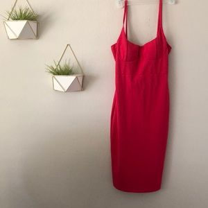 NWT Hot Pink Dress